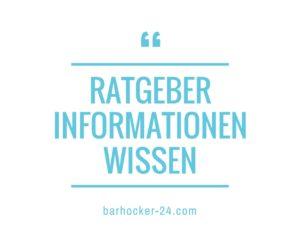 Barhocker Schwarz